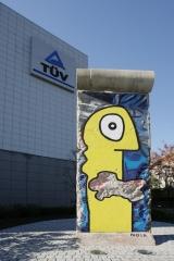 <h5>Thanks TÜV Rheinland</h5><p>Berlin Wall in front of the German Technology Assessment Center (GTAC) in Yokohama. © by &lt;a href=&quot;http://www.tuv.com/news/de/deutschland/ueber_uns/presse/meldungen/newscontentde_225103.html/T%C3%9CV%20Rheinland:%20Ein%20St%C3%BCck%20Berliner%20Mauer%20in%20Yokohama&quot; target=&quot;_blank&quot;&gt;TÜV Rheinland&lt;/a&gt;</p>