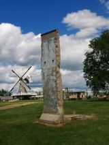 <h5>Thanks Mennonite Heritage Village</h5><p>© Piece of the Berlin Wall, located at &lt;a href=&quot;http://www.mennoniteheritagevillage.com/&quot; target=&quot;_blank&quot;&gt;Mennonite Heritage Village in Steinbach, Manitoba Canada&lt;/a&gt;</p>