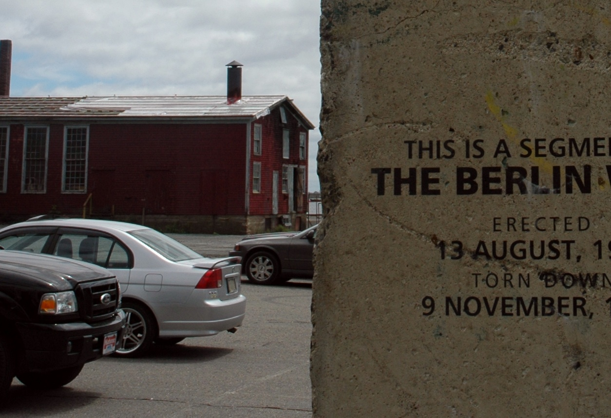 Berlin Wall in Lunenburg