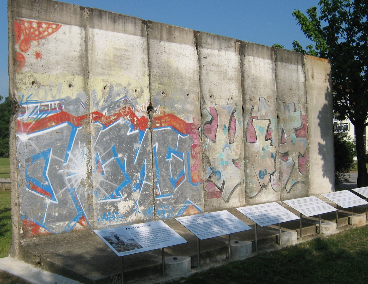 Berlin Wall in Diedorf
