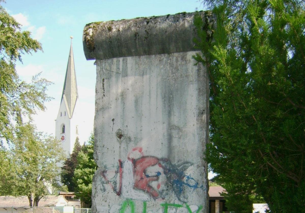 Berlin Wall in Oberstdorf