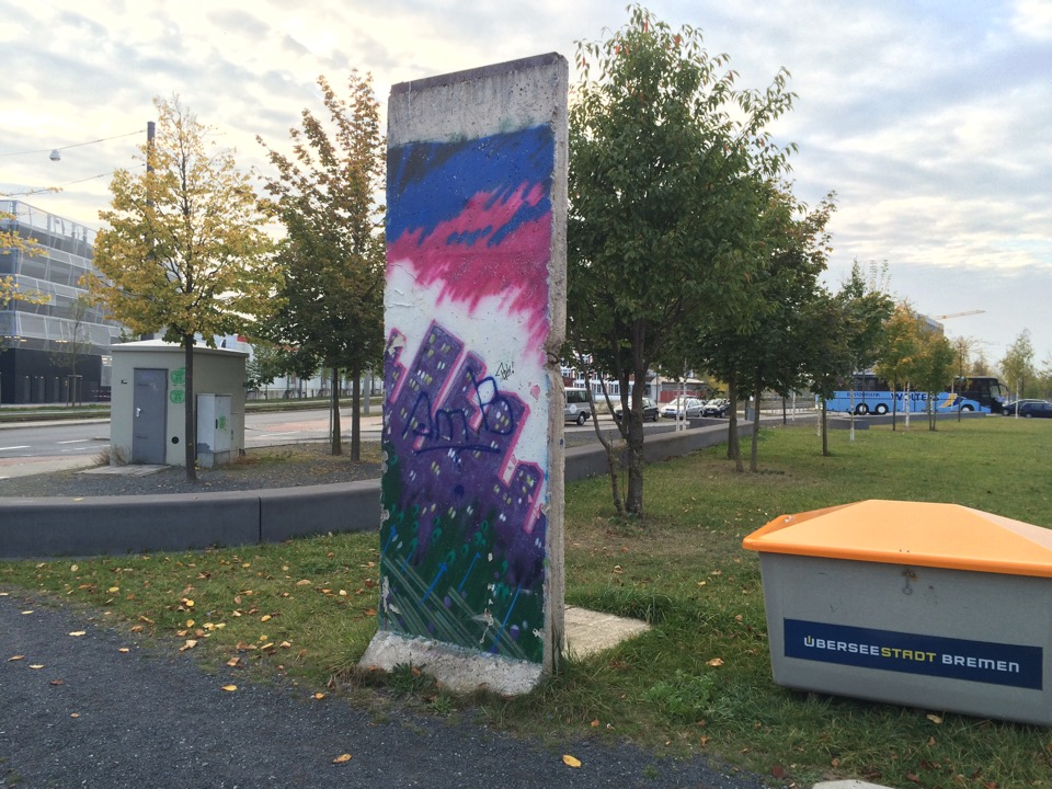 Berlin Wall in Bremen