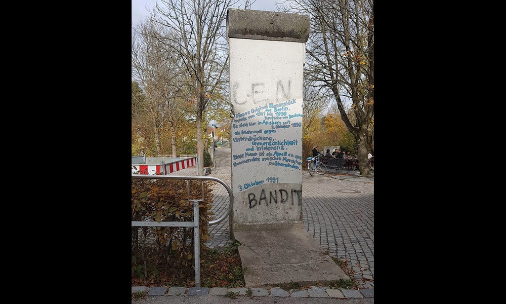 Berlin Wall in Ansbach