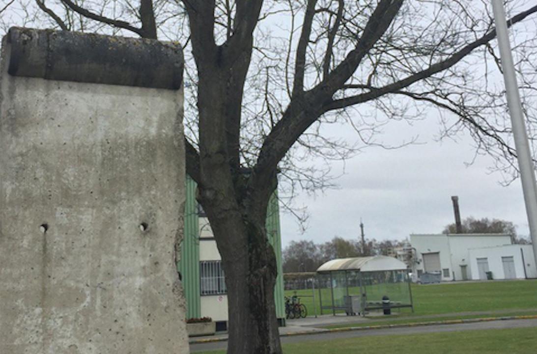 Berlin Wall in Casteau