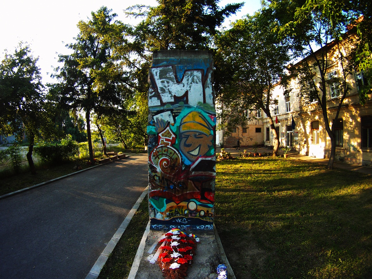 Berlin Wall in Temesvar