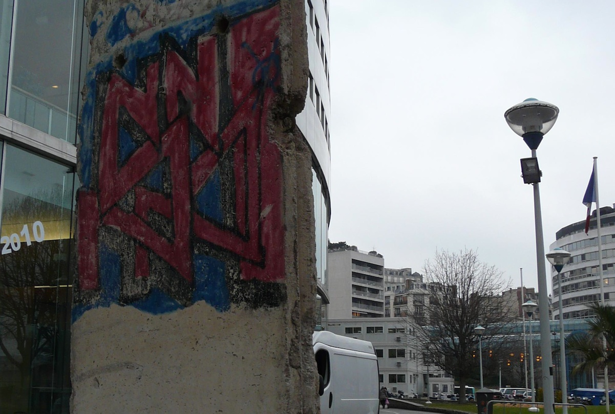 Berlin Wall in Paris