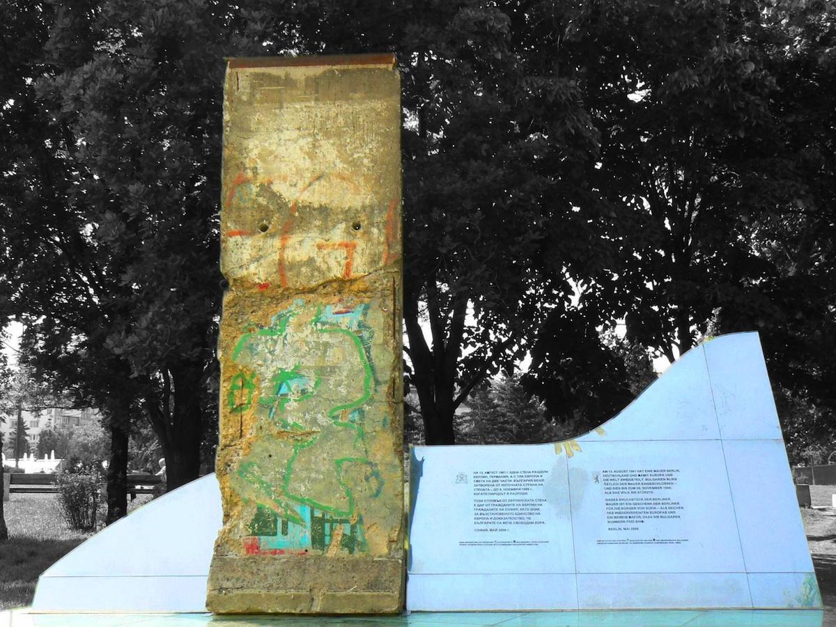 Berlin Wall in Sofia