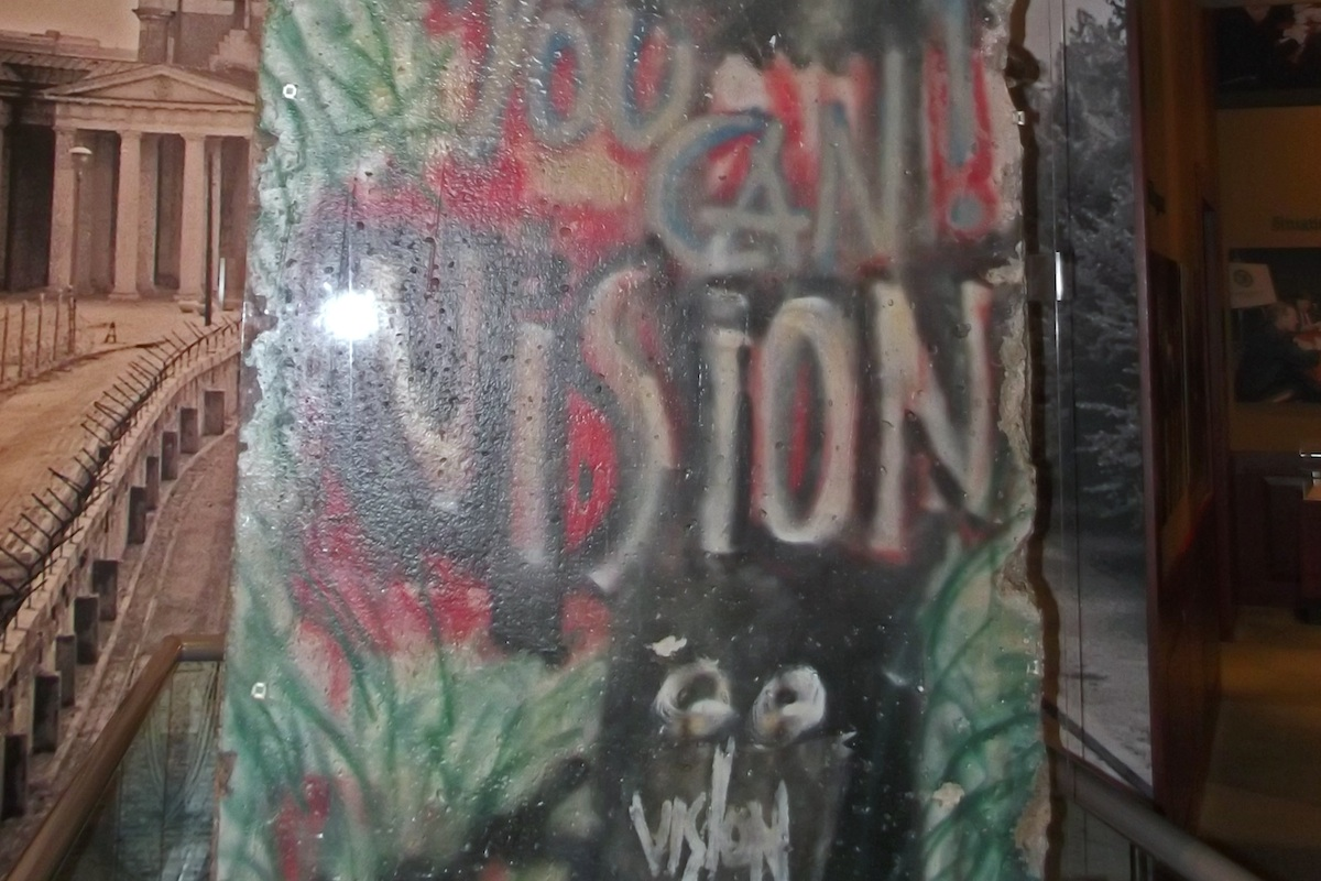 Berlin Wall in College Station