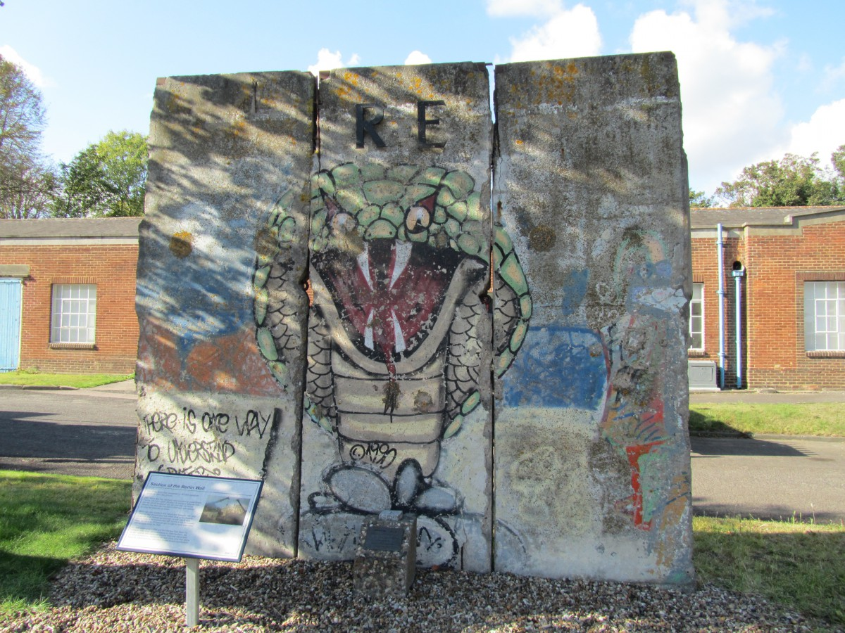 Berlin Wall in Gillingham