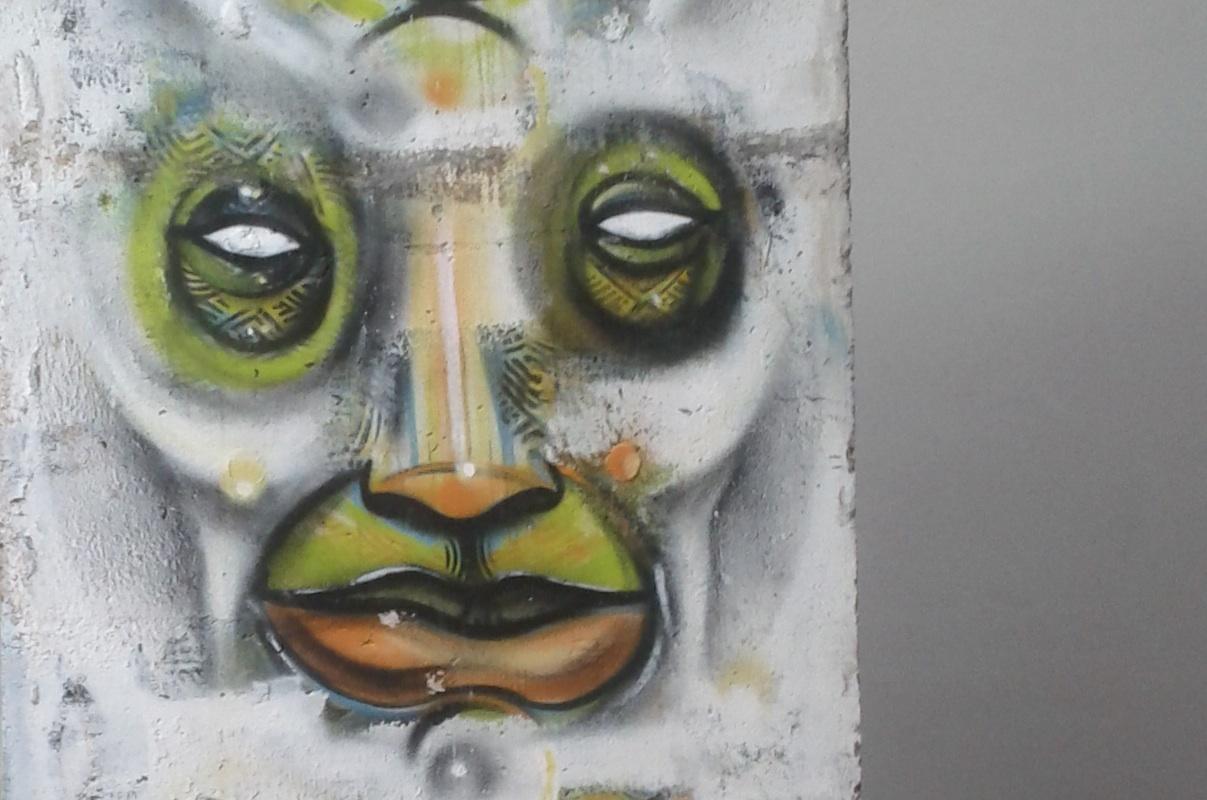 Berlin Wall in Leipzig