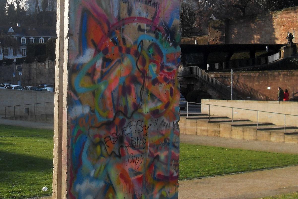 Berlin Wall in Saarbrücken