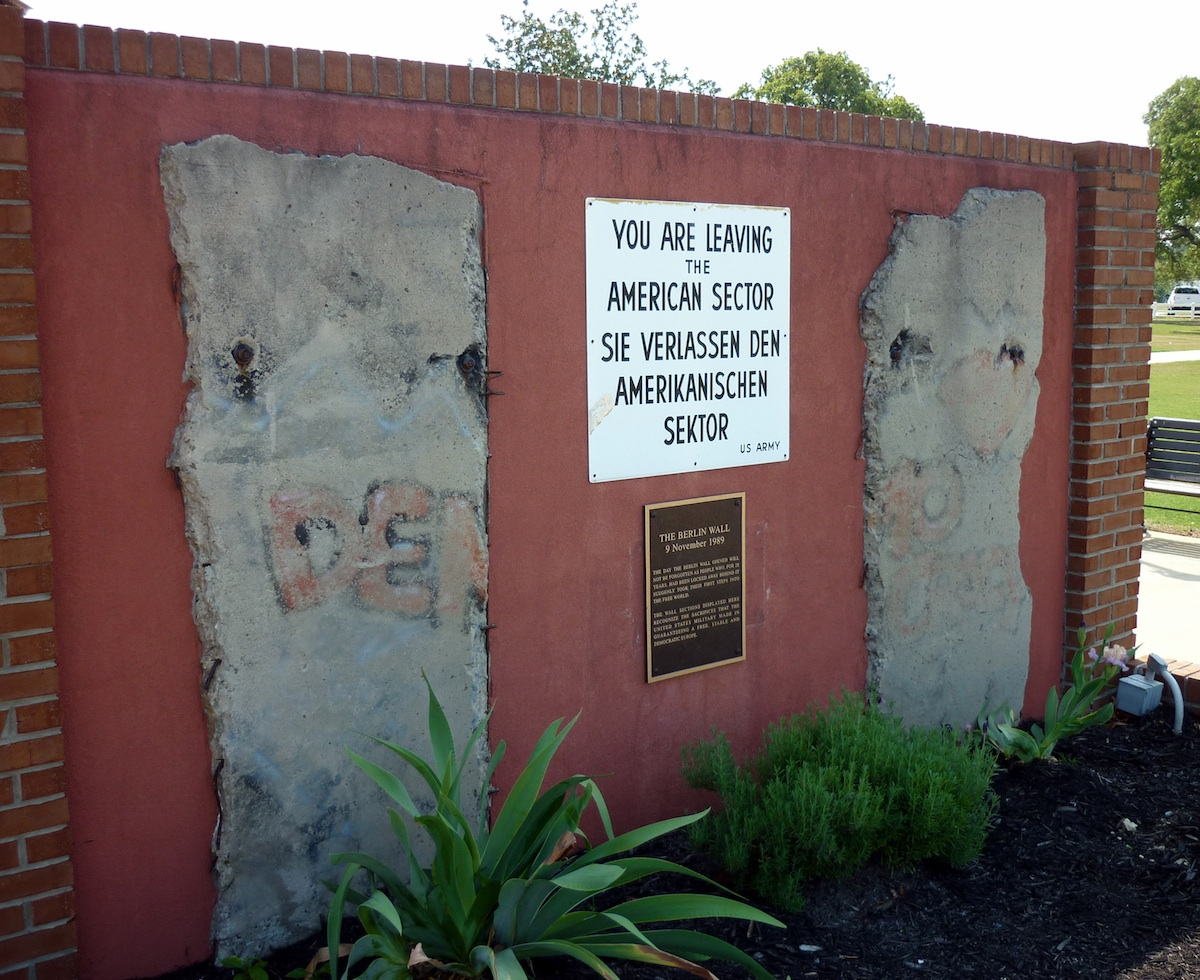 Berlin Wall in Augusta