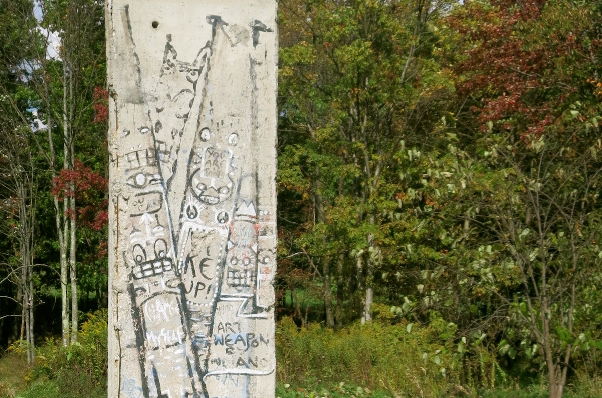 Berlin Wall in Nemacolin