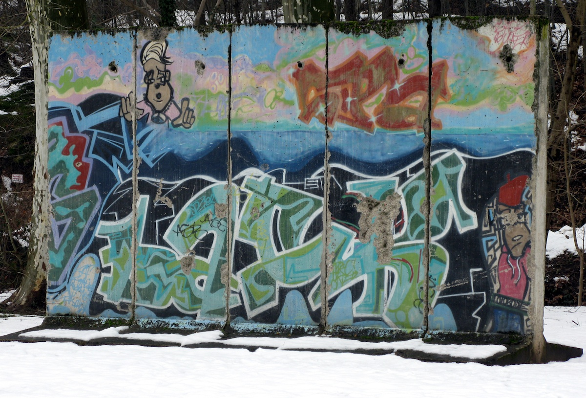 Berlin Wall in Zell am Harmersbach