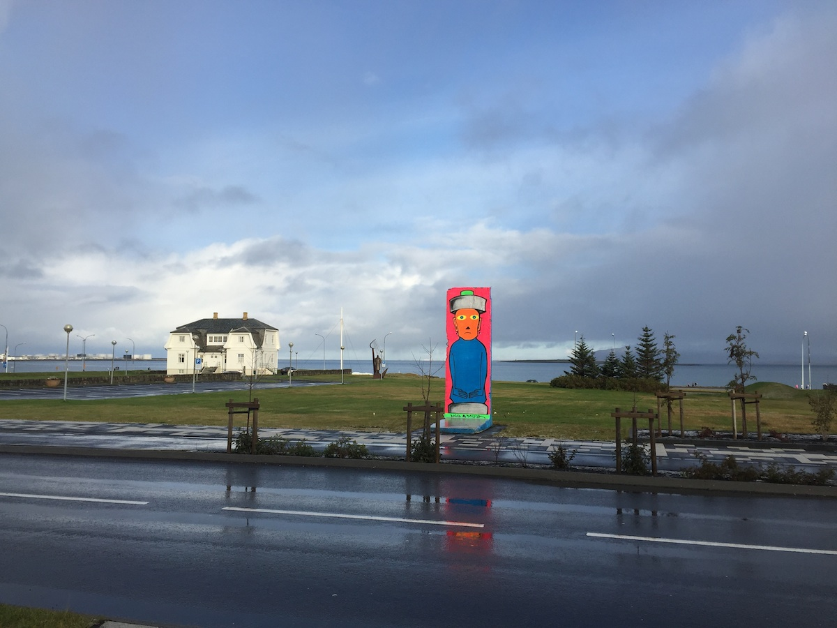 Berlin Wall in Reykjavik