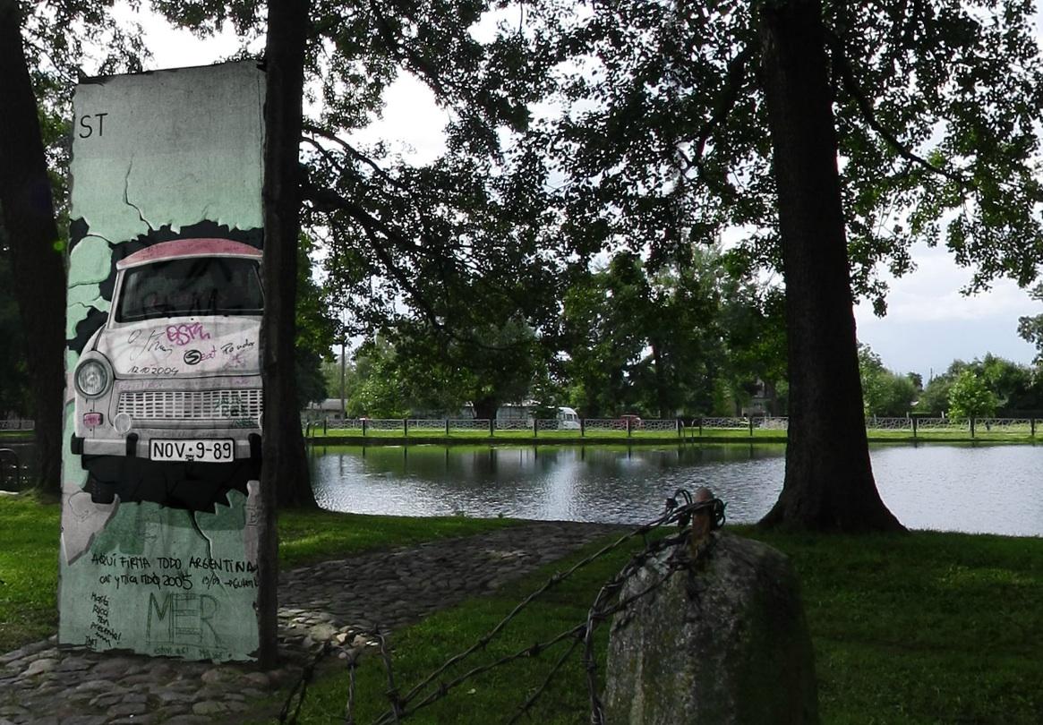Berlin Wall in Witnica