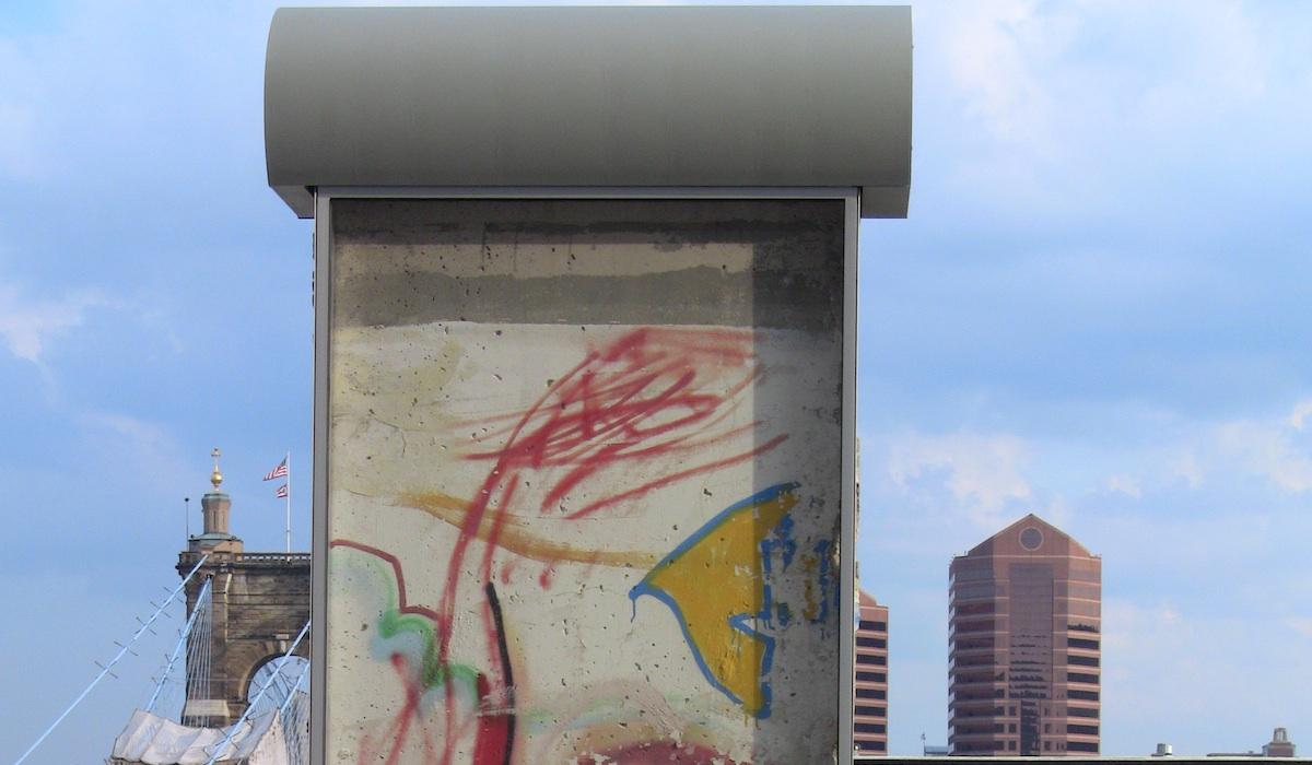 Berlin Wall in Cincinatti
