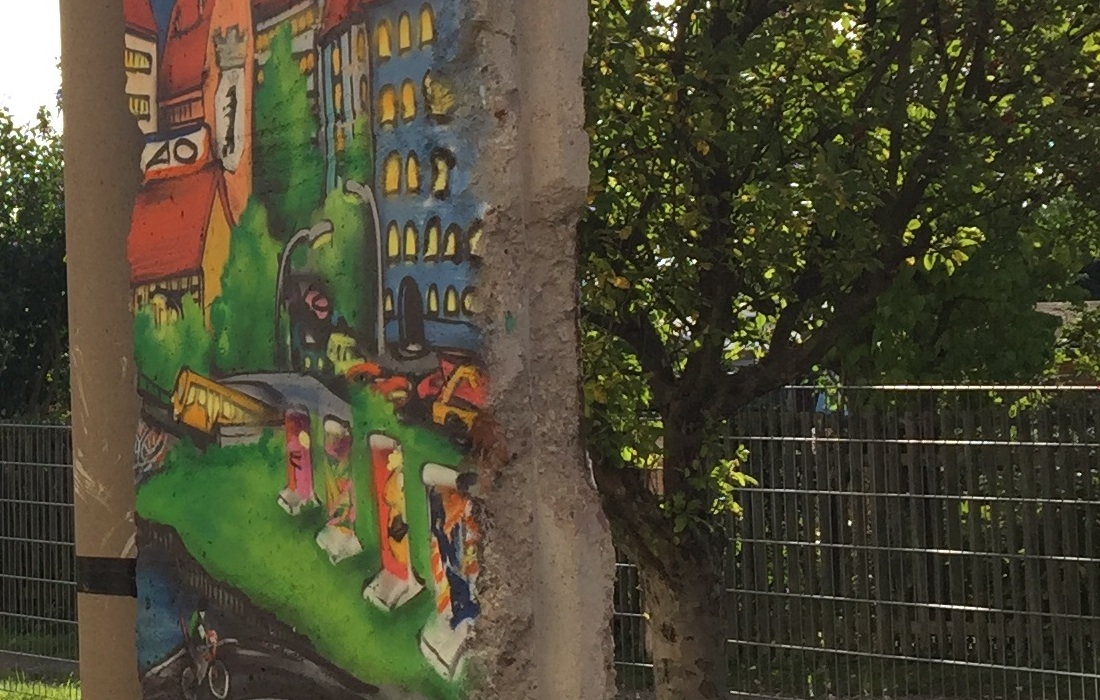Berlin Wall in Weimar