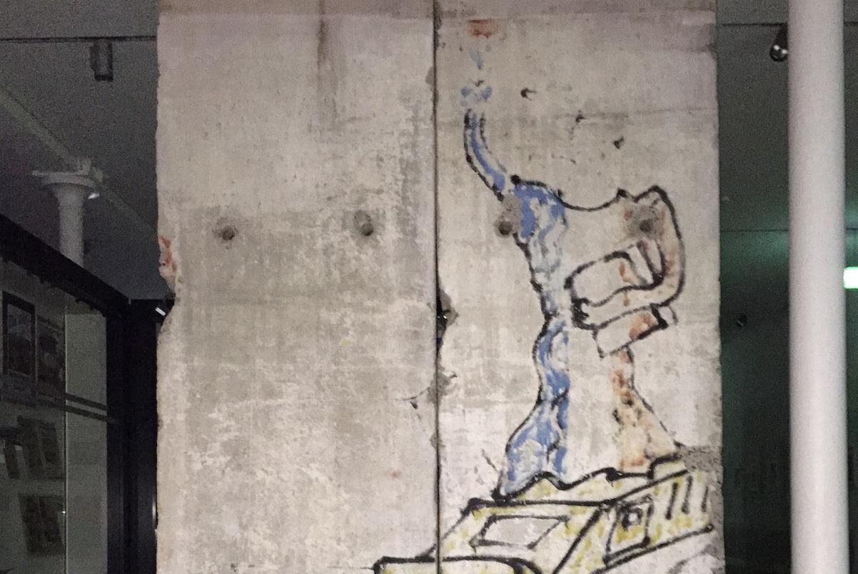 Berlin Wall in Dresden