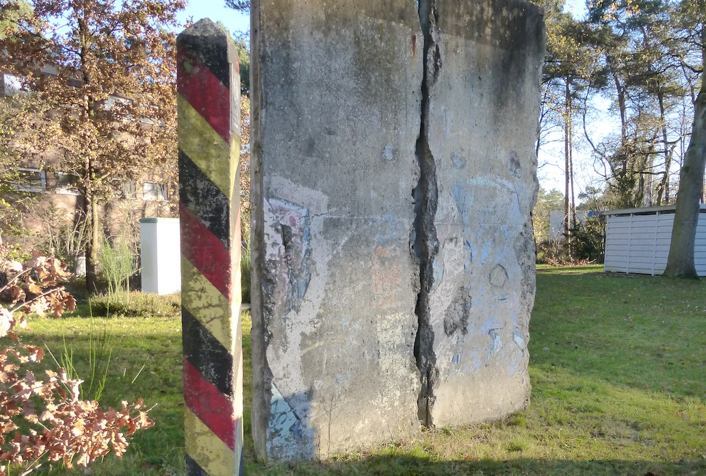 Berlin Wall in Nienburg