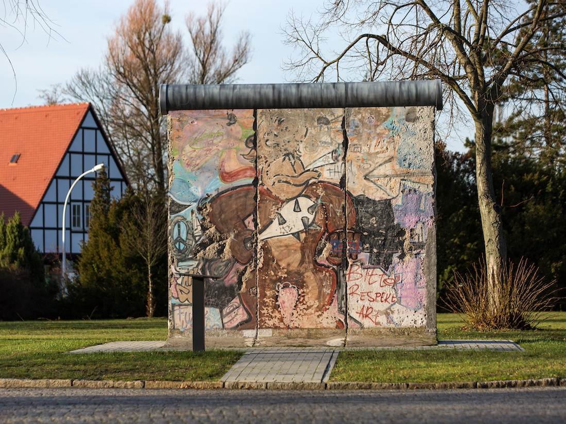 Berlin Wall in Strausberg