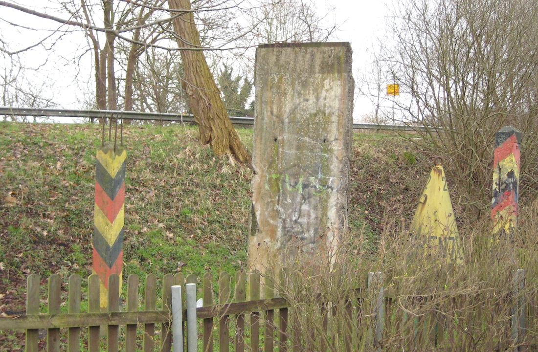 Berlin Wall in Büchen