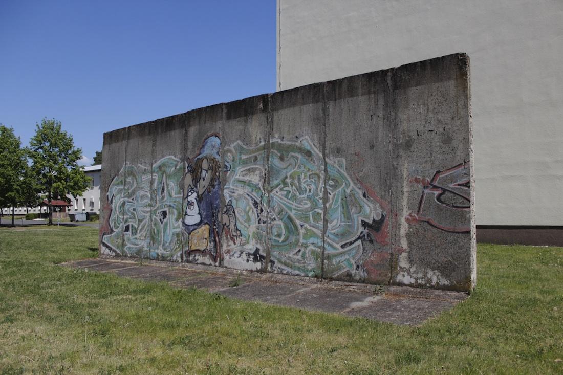 Berlin Wall in Storkow