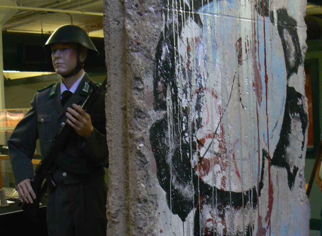 Berlin Wall in Yorba Linda