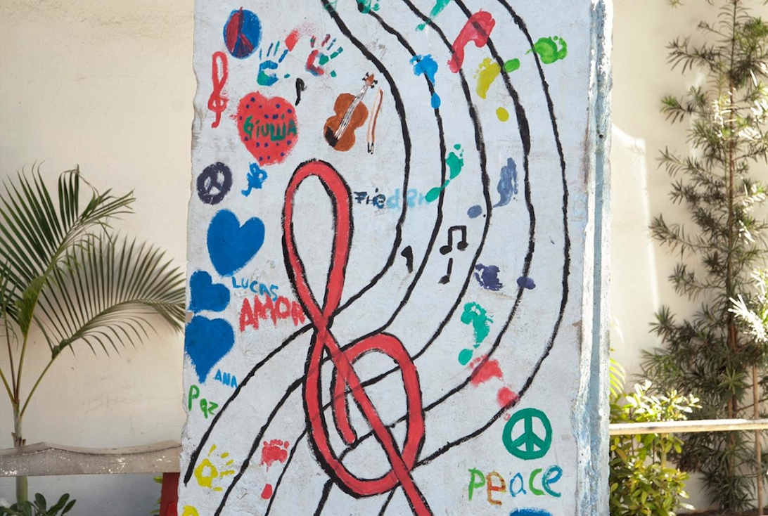 Berlin Wall in Moji-Mirim