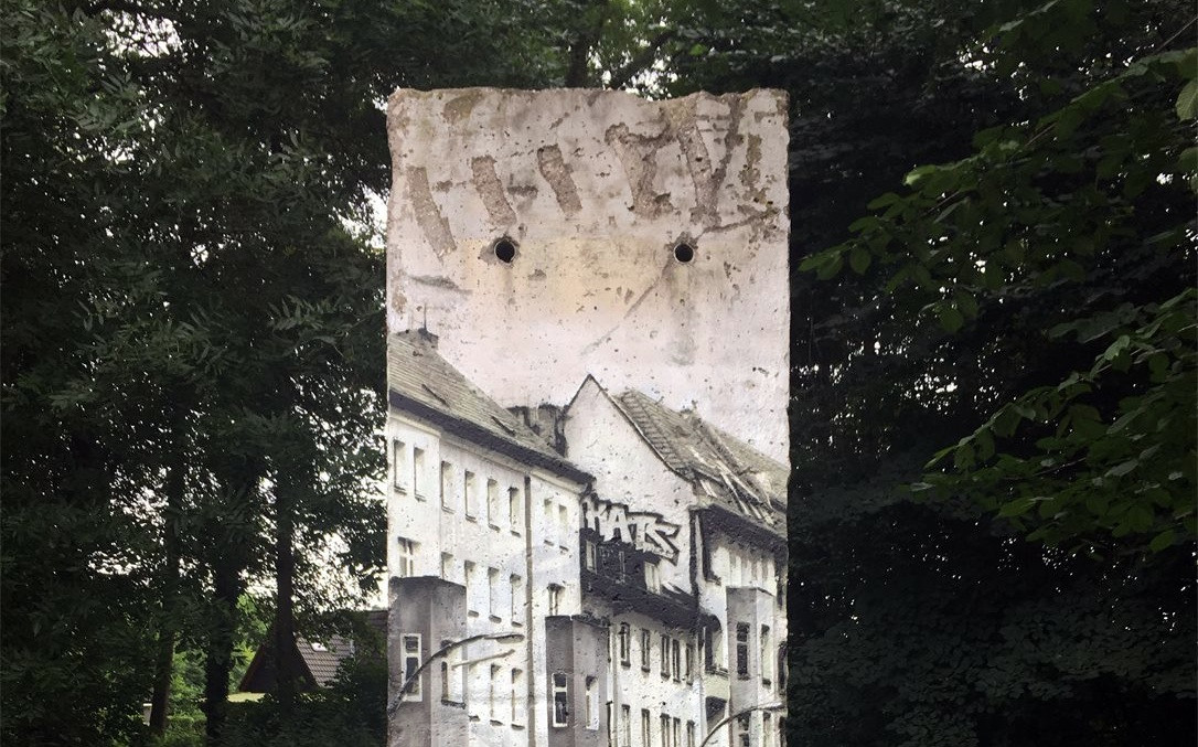 Berlin Wall near Hamburg