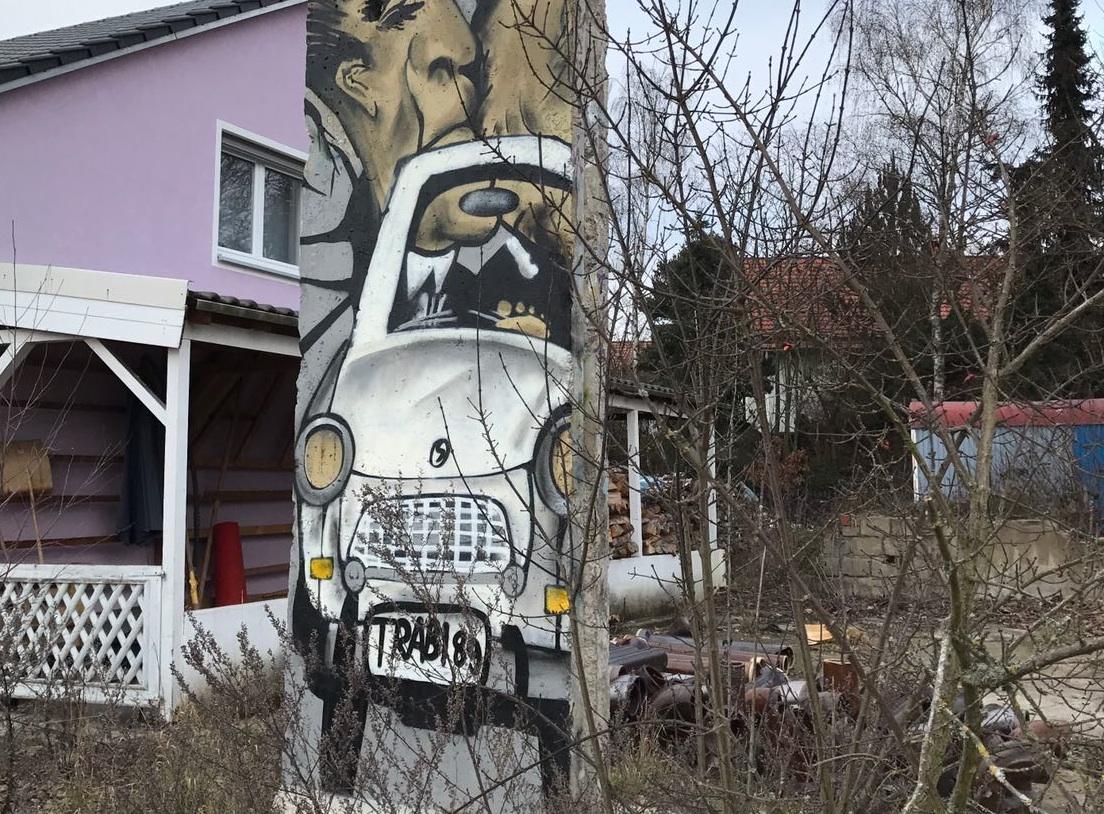 Berlin Wall in Pressath