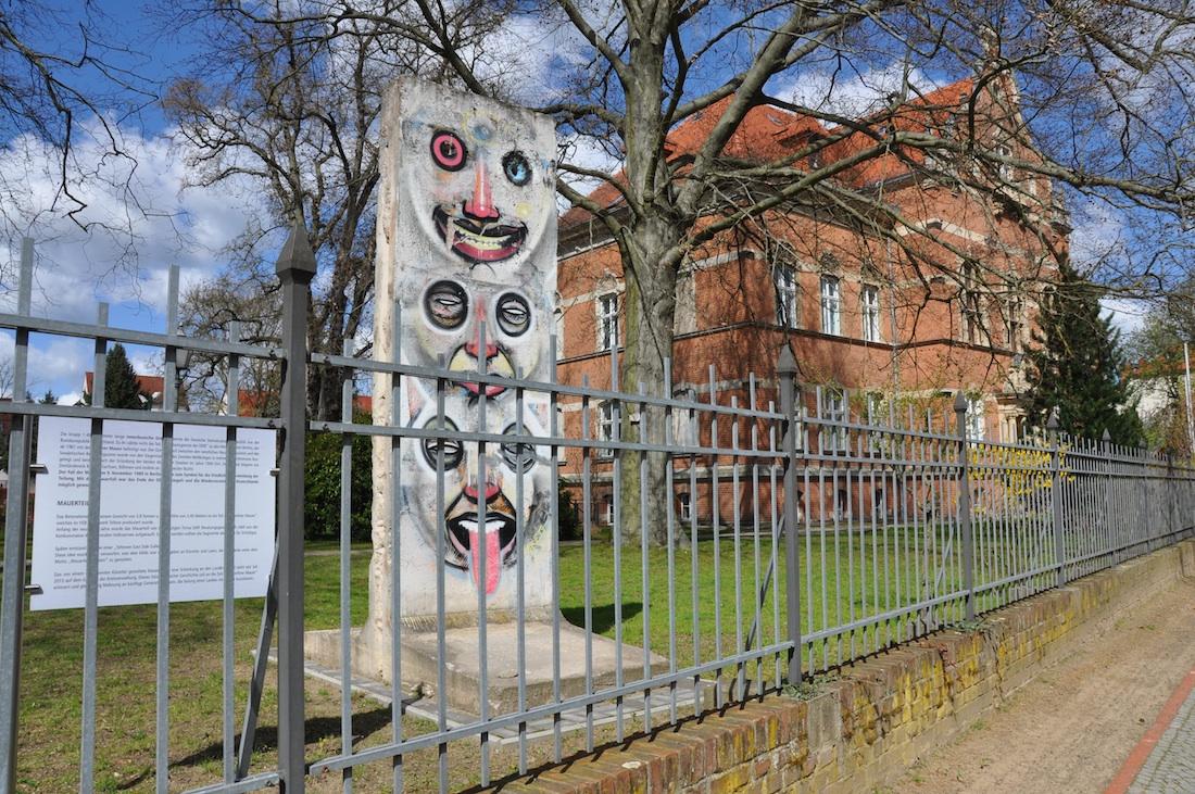 Berlin Wall in Bad Belzig