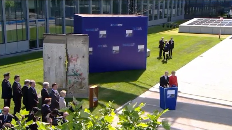 Berlin Wall @ NATO HQ