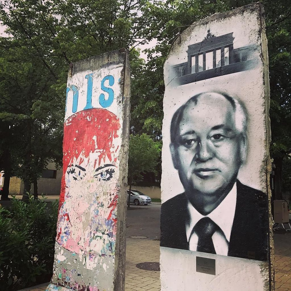 Berlin Wall in Schengen, Luxemburg