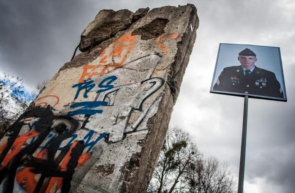 Berlin Wall in Elblag, Poland