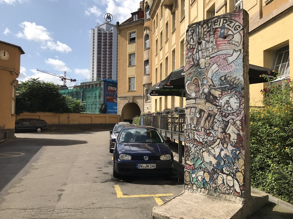 Berlin Wall in Leipzig, Germany