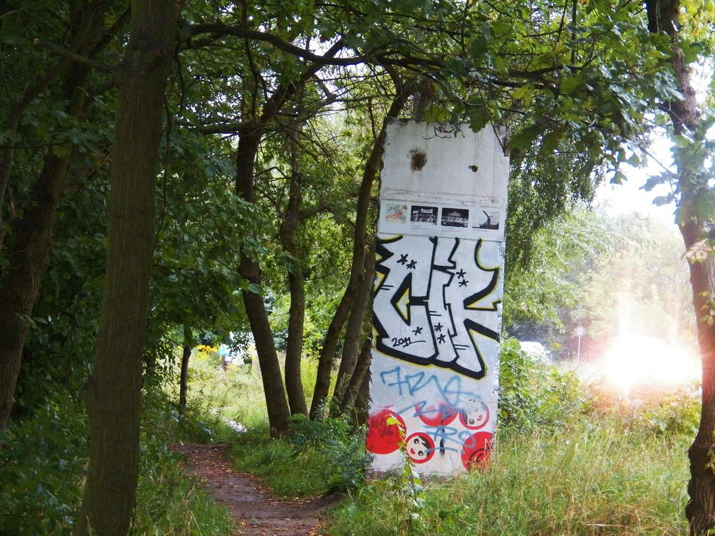 Berlin Wall in Großbeeren-Heinersdorf, Germany