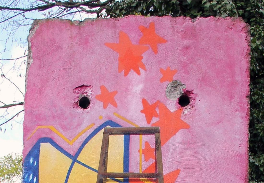 Berlin Wall in Potsdam, Germany