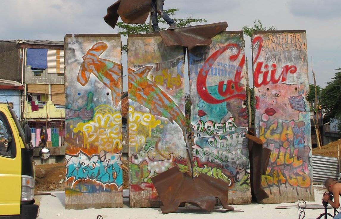 Berlin Wall in Jakarta, Indonesia