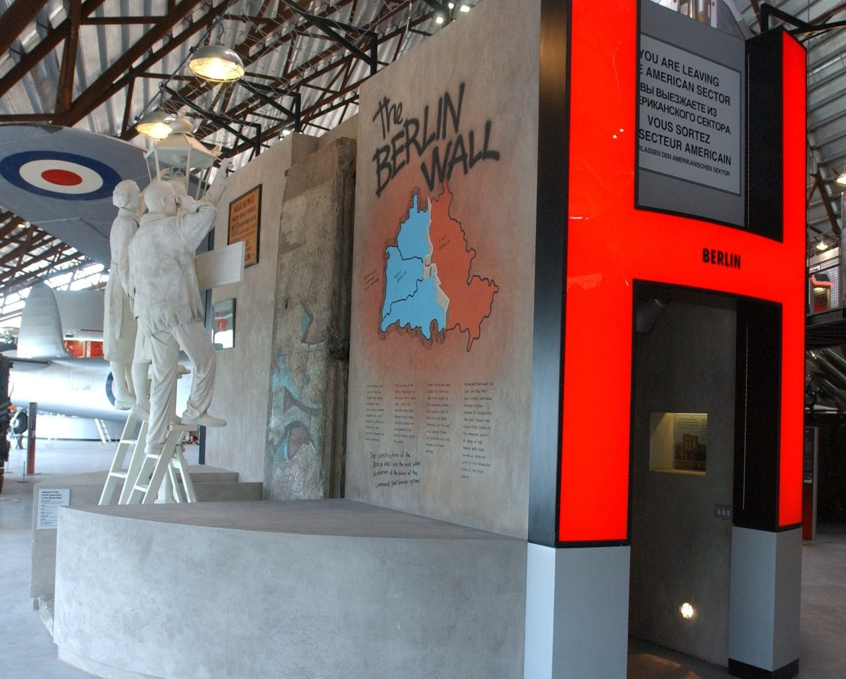 Berlin Wall in Cosford, UK