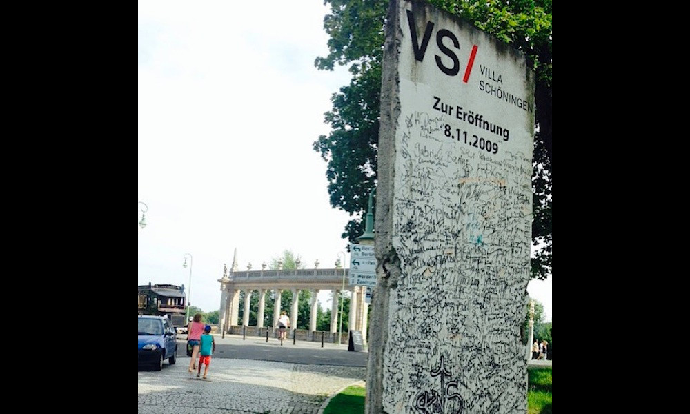 Berlin Wall in Potsdam