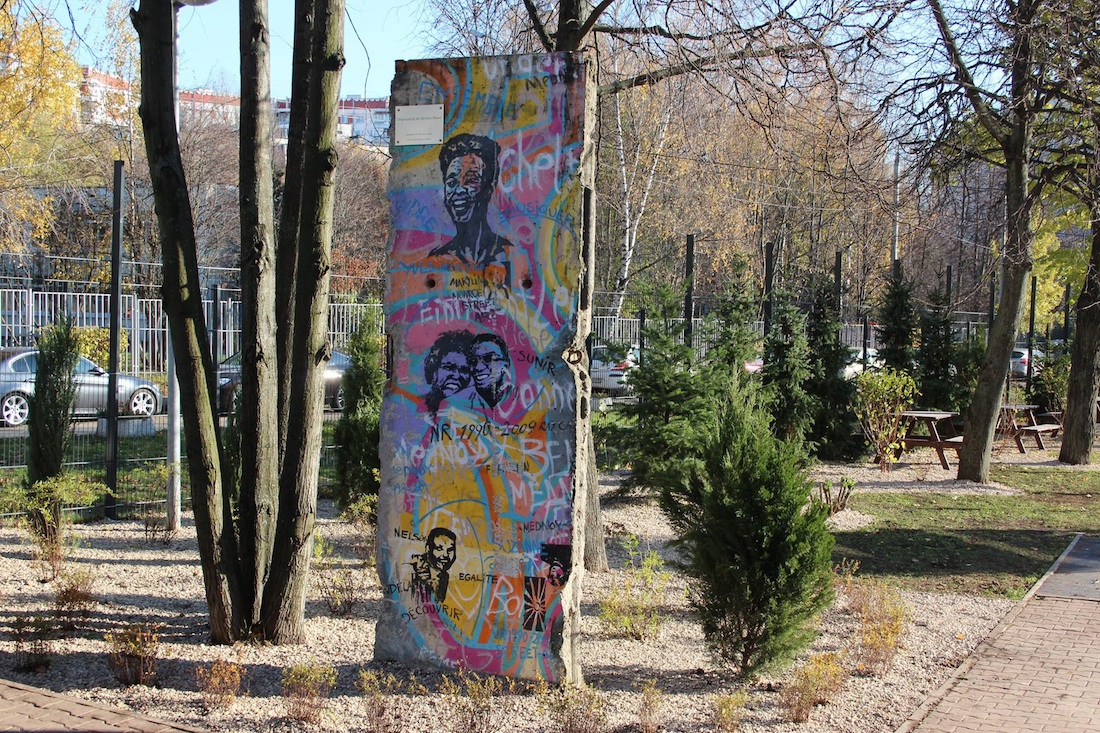 Berlin Wall in Moscow