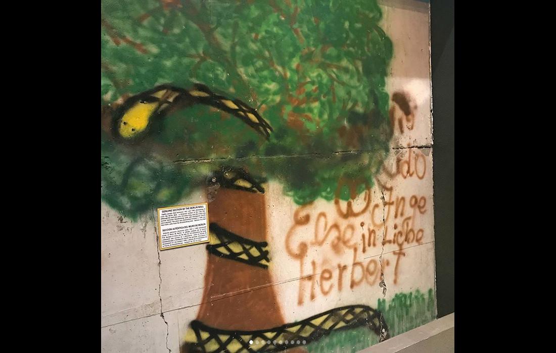 Berlin Wall in Hollywood, CA