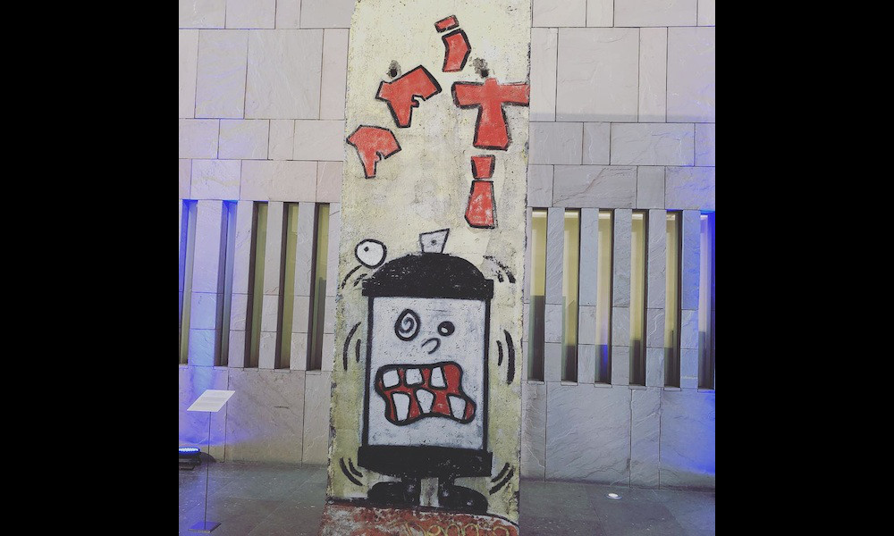 Berlin Wall in Doha, Qatar